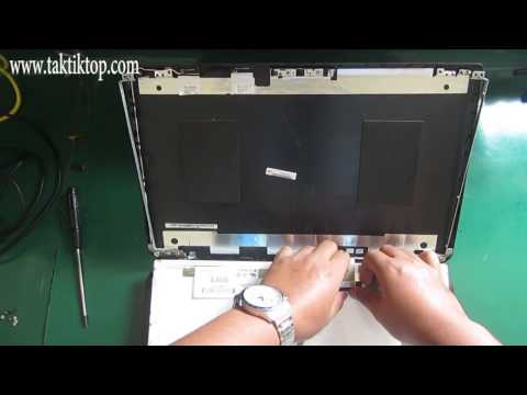 How To Replace Lcd of Toshiba Satellite C50 C50B C55