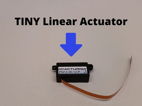 Unboxing PQ12 Micro Linear Actuator