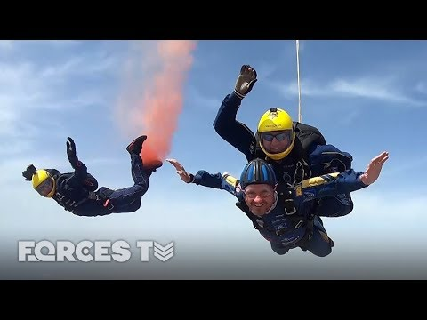 Could The Army Persuade You To Jump Out Of A Plane? | Forces TV