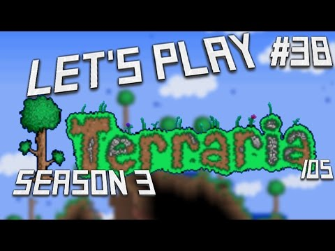 Let's Play Terraria (1.2) iOS- Cannons & Parrot! Episode 38 (S3)