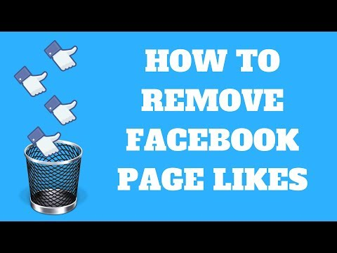 How To Remove Facebook Page Likes