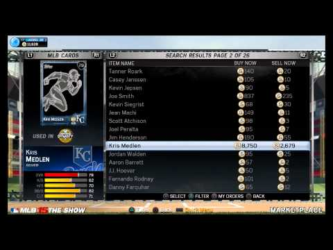 MLB 15 The Show Diamond Dynasty Roster Update July 27th
