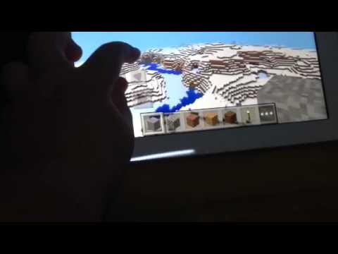 Minecraft PE SNOW Biom Seed HUGE (0.9.0