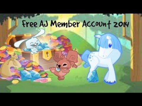 Animal Jam FREE MEMBER account 2015