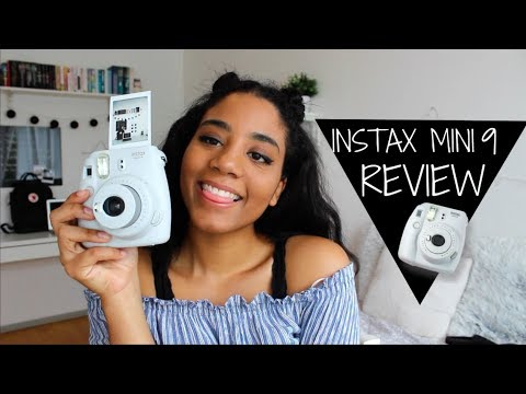 instax mini 9: unboxing, first shot & review (fujifilm)