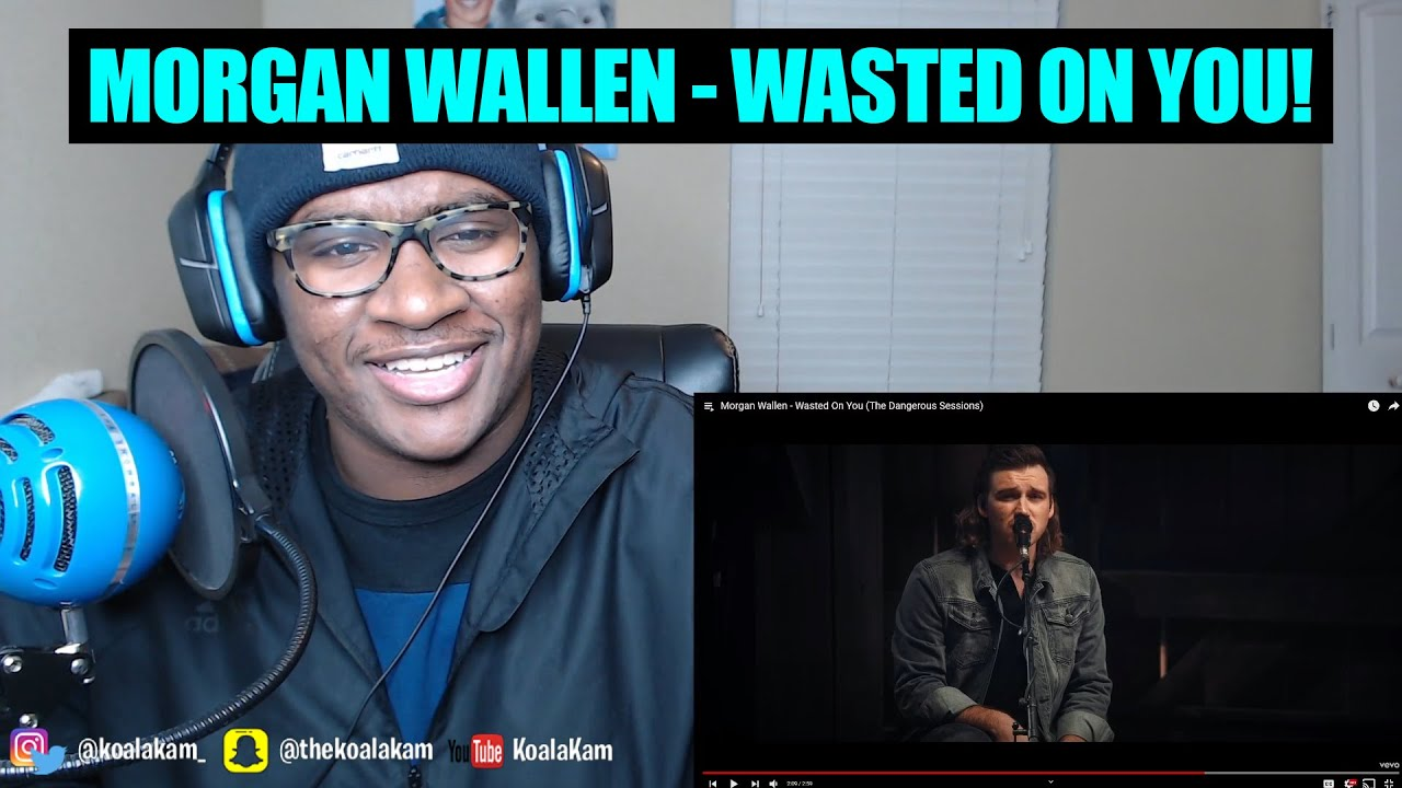 Morgan Wallen - Wasted On You (The Dangerous Sessions) | REACTION!