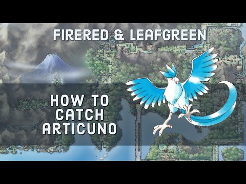 How to Catch Articuno in Pokemon FireRed and LeafGreen