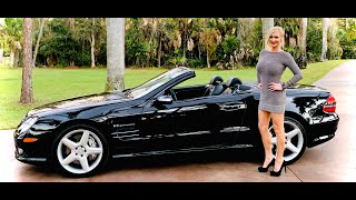 RARE, Sleek, Sporty & Sexy Mercedes-Benz SL55 AMG w/510HP & ONLY 19k Miles! For Sale AutoHaus Naples