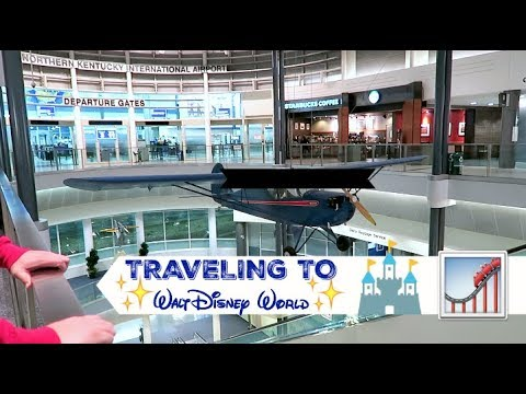 Travel to Walt Disney World + Pop Century Resort Arrival