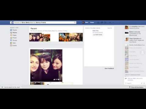 How to search (or stalk?) for people's pictures on Facebook - part 2