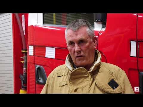 CFA Good Friday Appeal Peter May Werribee Fire Brigade