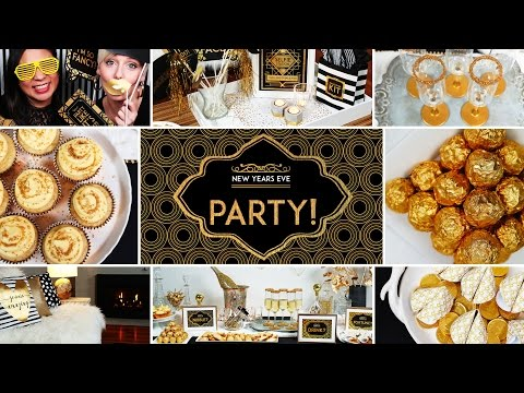 Glitter & Gold New Year's Eve Party | Collab with Simply Cher Cher