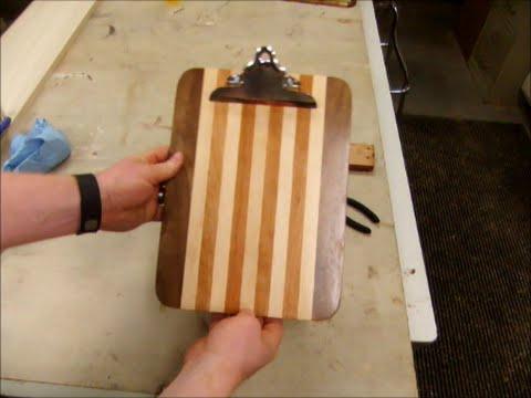 Hardwood Clipboard Build
