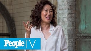 Sandra Oh Reveals The 'Grey's Anatomy' Prop She Stole, Her Co-Star Crush & More In Q&A | PeopleTV