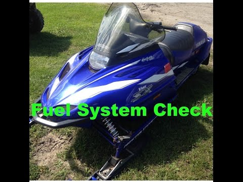 Resurrecting a 1999 Yamaha V-Max 600 SX Snowmobile Part 1