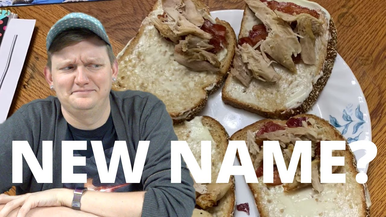 AMBERLYNN'S NEW NAME + SANDWICH LOGIC