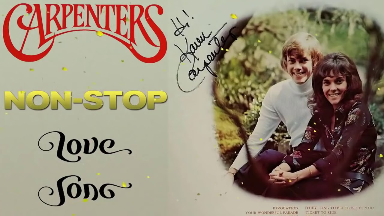 The Carpenters Greatest Hits 2021♫ The Carpenter Best Songs Collection- oldies but goodies songs