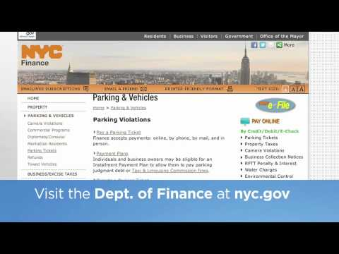 How do I pay a parking ticket over the phone?