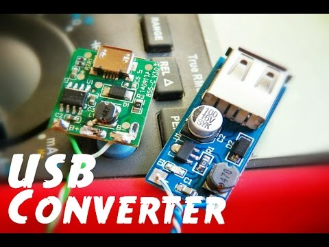 Easy Power Bank using DC to DC Step-up Boost Converter