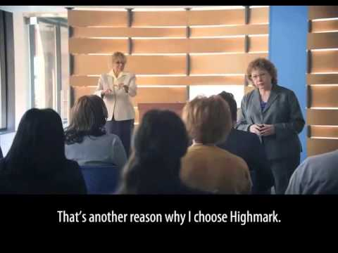 Highmark Better with Blue Advertising Campaign Featuring Joyce Bender