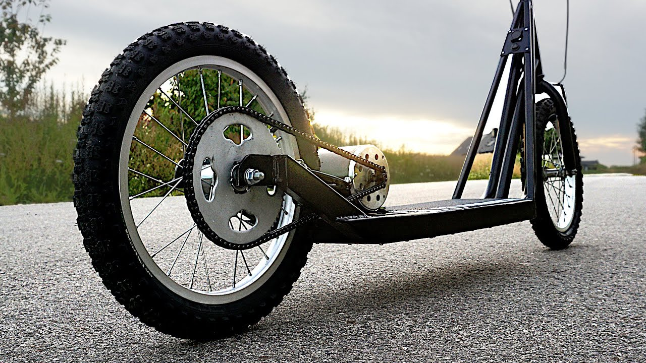 Making a High-Power Electric Scooter