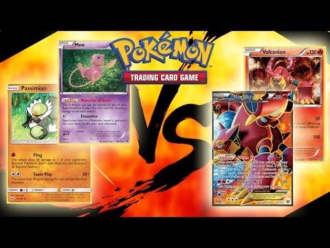 Passimian/Mew Budget Deck VS. Volcanion Deck - Close Pokemon TCGO Match