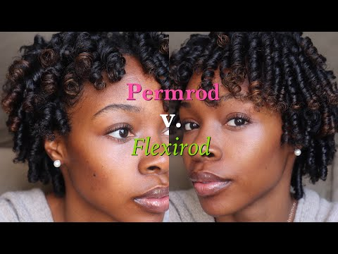 Permrods vs Flexirods | How to Perfect both Rodsets on Kinky Curly Natural Hair