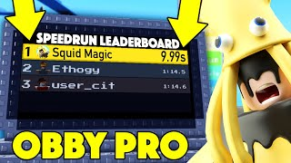 i became a SPEED RUN OBBY PRO in ROBLOX! (Fast)