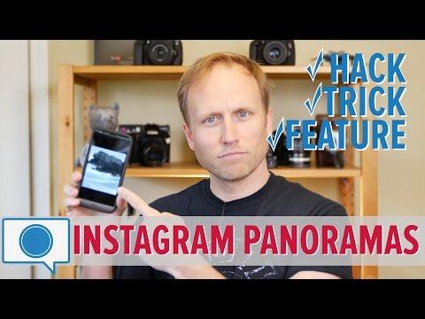 Trick! Share BIG, Beautiful Panoramas on Instagram