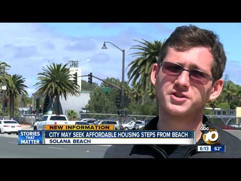 Solana Beach may seek affordable housing steps from beach