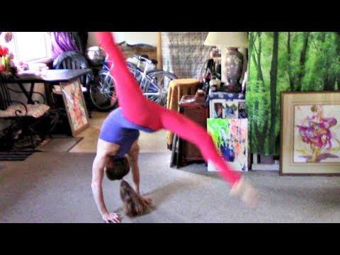 How To Handstand Bridge Kickover: Level 3 Gymnastics