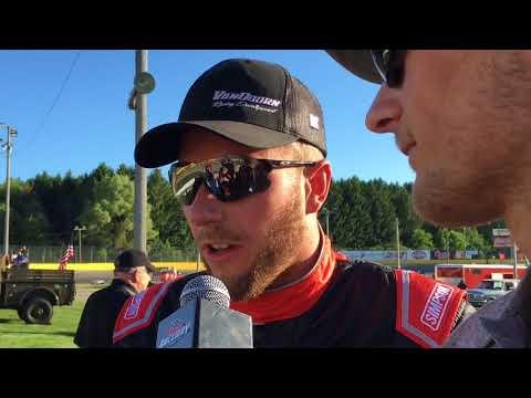 Johnny VanDoorn wins May 26, 2018 Super Late feature at Berlin Raceway