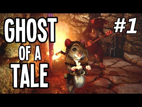 PYROMANIAC Mouse ESCAPES Prison Cell!! - Ghost of a Tale Gameplay Playthrough - Ep. 1