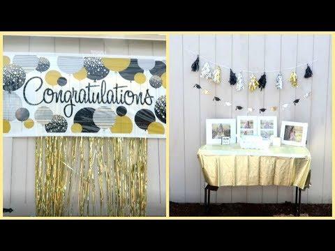 Graduation Party & Decoration Ideas