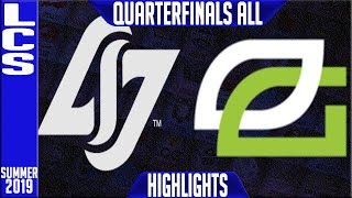 Download CLG vs OPT Highlights ALL GAMES | LCS Summer 2019 Playoffs Quarterfinals | CLG vs Optic Gaming Video
