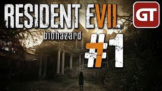 Resident Evil 7 Biohazard Gameplay #1 - Let's Play Beginning Hour [Demo] - Deutsch / German