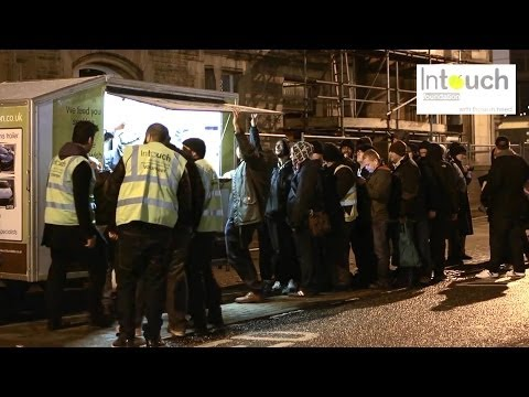 Muslims Feeding The Homeless In The West - INTOUCH FOUNDATION - An Amazing Project