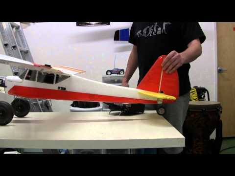 How do remote controlled airplanes work?