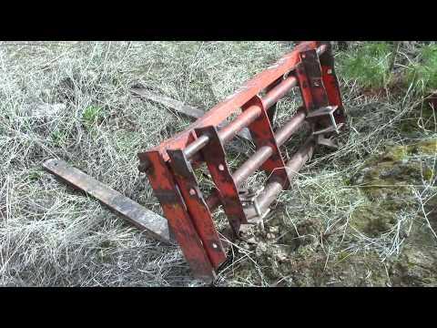 Forks for the Case 530 Backhoe
