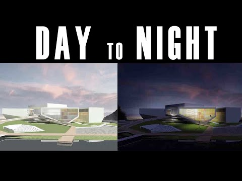 [STEP BY STEP] Day to night in photoshop