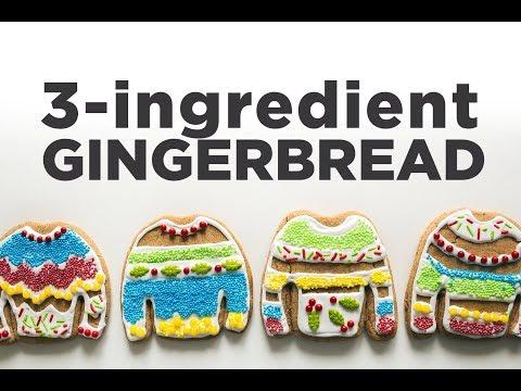 3-Ingredient Gingerbread