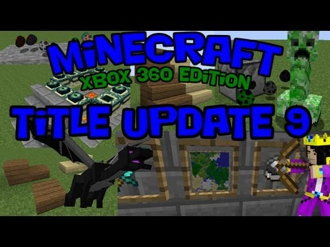 Title Update 9 for Xbox, The End, Enderdragon, Spawn Eggs, and More!
