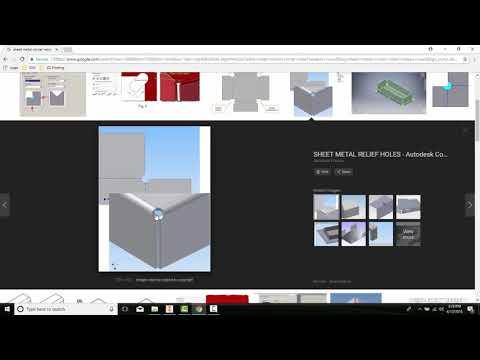 14-05 Setting Sheet Metal Components Parameters   Corner Tab