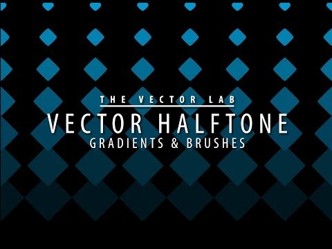 Tutorial: How to Make Vector Halftone Gradients & Brushes in Adobe Illustrator