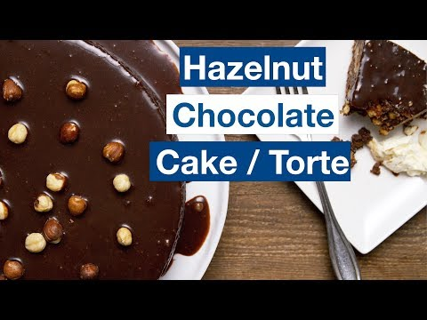 Chocolate Hazelnut Cake - Torte || Le Gourmet TV Recipes