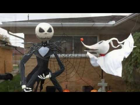 Creepy And Cool Halloween Yard Decor Ideas | Hellowen DIY Decoration
