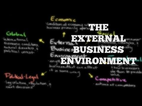 Episode 167: The External Business Environment