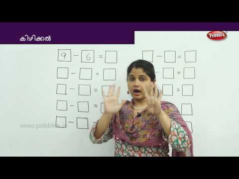 Learn Subtraction in Malayalam | Learn Math for Kids | Preschool Educational Video