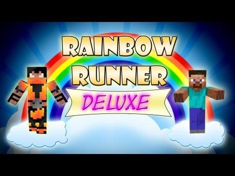 Rainbow Runner Deluxe - Mini Game - Minecraft