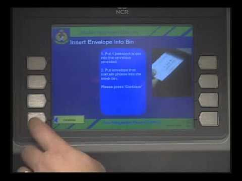 Malaysia International Passport Renewal Kiosk